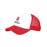 Kids' cap trucker Hockey Slovakia - red