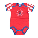 Baby bodysuit red sign Slovakia