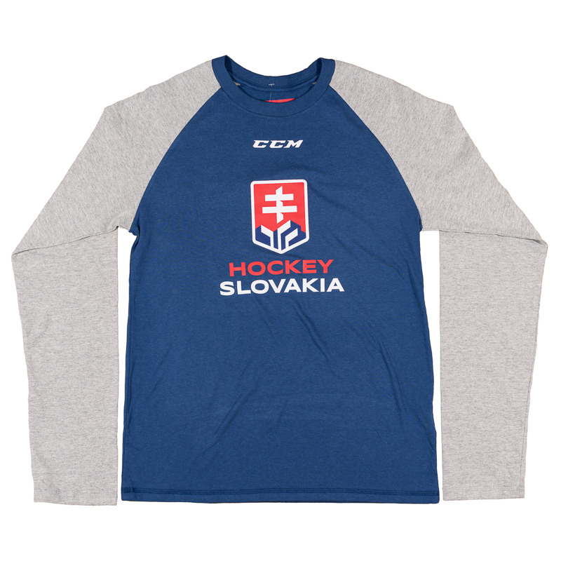 f3dcaa1ce5c6 Pánske tričko s dlhým rukávom CCM Hockey Slovakia