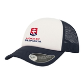 Kid´s cap trucker Hockey Slovakia - blue